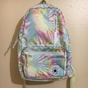 Converse backpack with laptop holder,